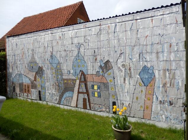 Vægmaleri: Bente Gammelgaard